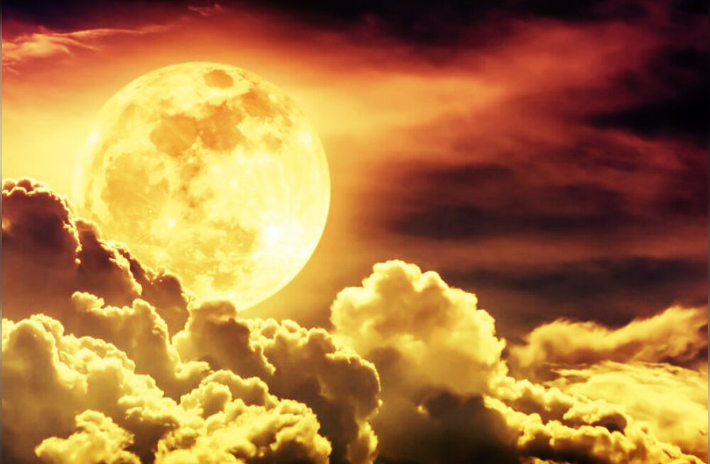 Täna taevas kõrguv Kaksikute märgi superkuu toob kaasa rahutu õhustiku