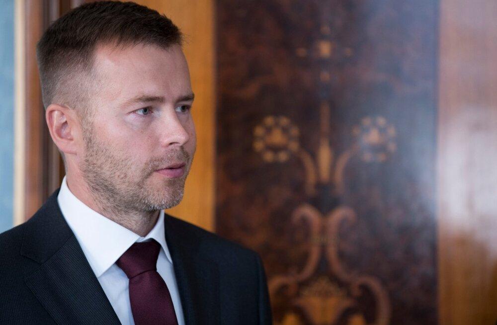 Uus ettevõtlus- ja infotehnoloogiaminister Rene Tammist Kadriorus