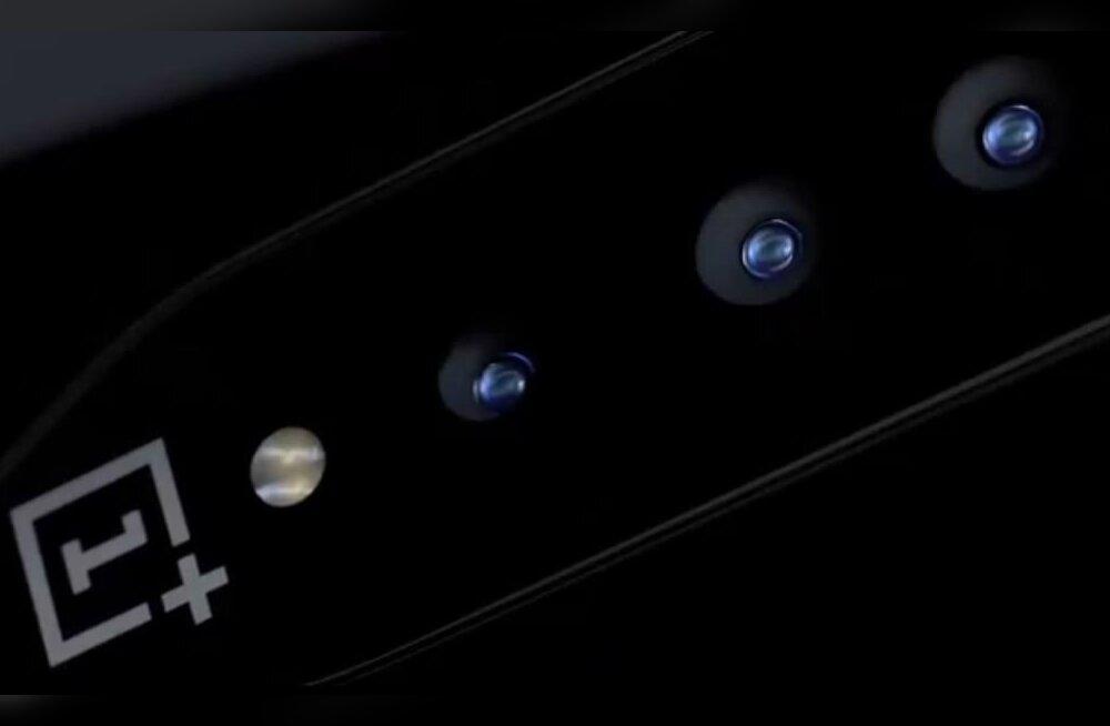 OnePlus meisterdas nähtamatu kaameraga telefoni