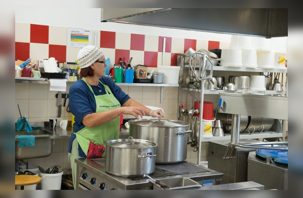 DELFI VIDEO: Millist toitu pakutakse Eesti parimas koolisööklas?