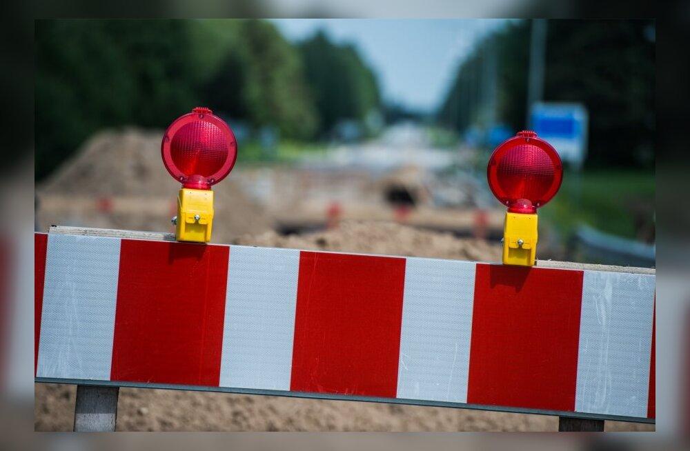 Spordivõistluste ja laada tõttu on täna Eestis mitmed teelõigud liiklusele suletud või piiratud