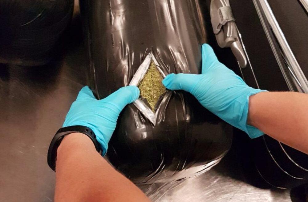 Müncheni lennujaamas leiti Tallinna teel olnud austraallase pagasist 15 kilo marihuaanat
