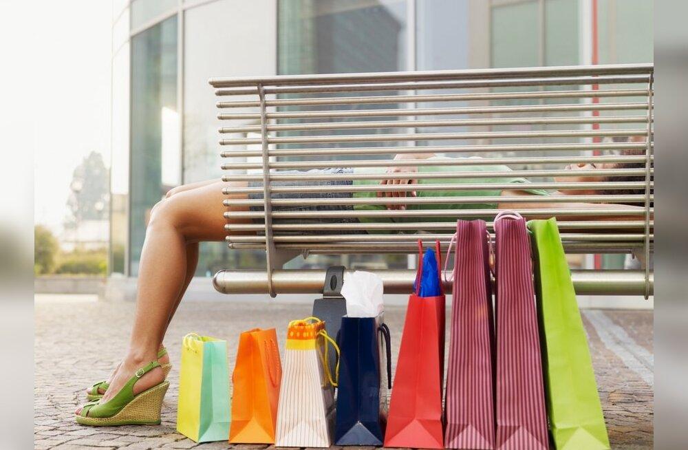 Naisedki tüdinevad mõnikord ostlemisest