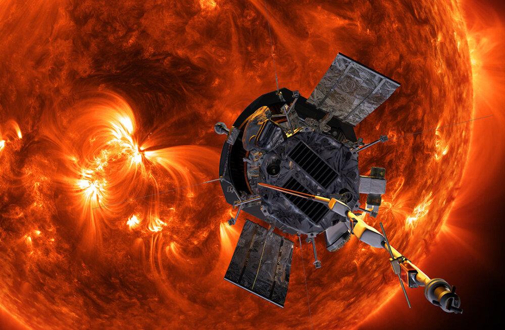 Parkeri päikesesond saatis Maale esimesed teadusandmed (ja neid on ootamatult palju!)