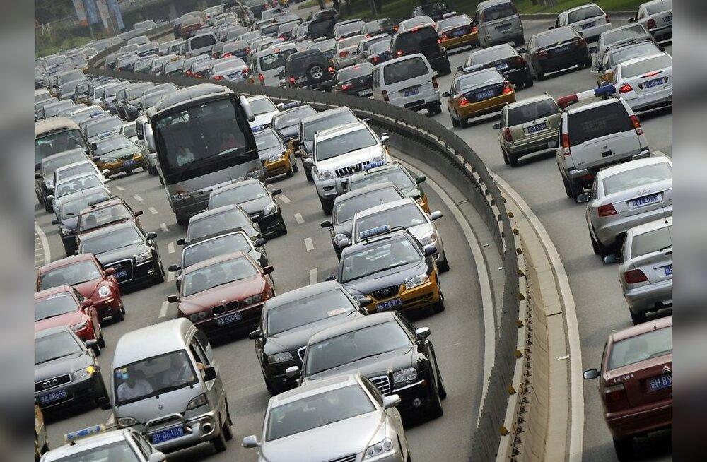 На шоссе Пекин-Тибет— пробка в 120 километров