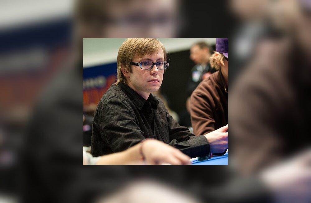 Online-pokkeri Eesti meistrivõistluste teise tiitli võitis Kristjan Rummel