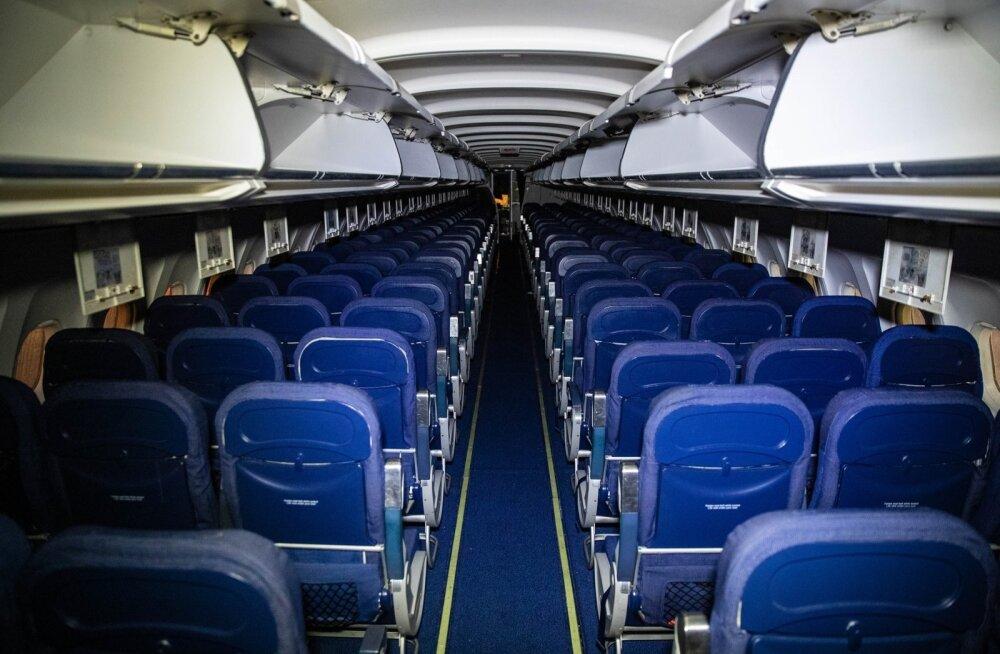 Airbus A320 tiibade transport Tallinnast Paldiskisse