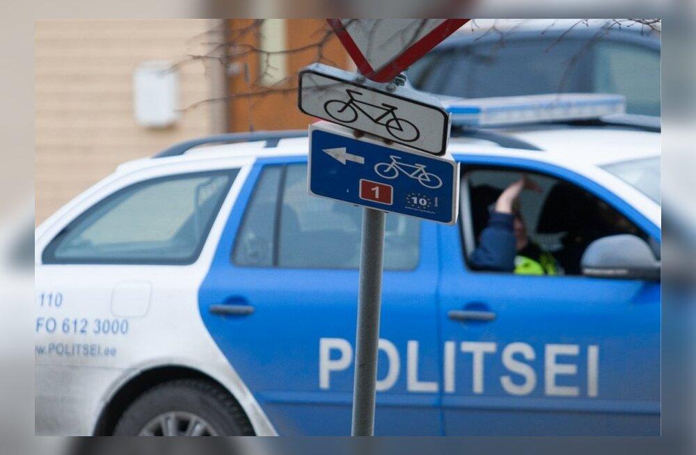 Politsei eest põgenemine ja puhumine