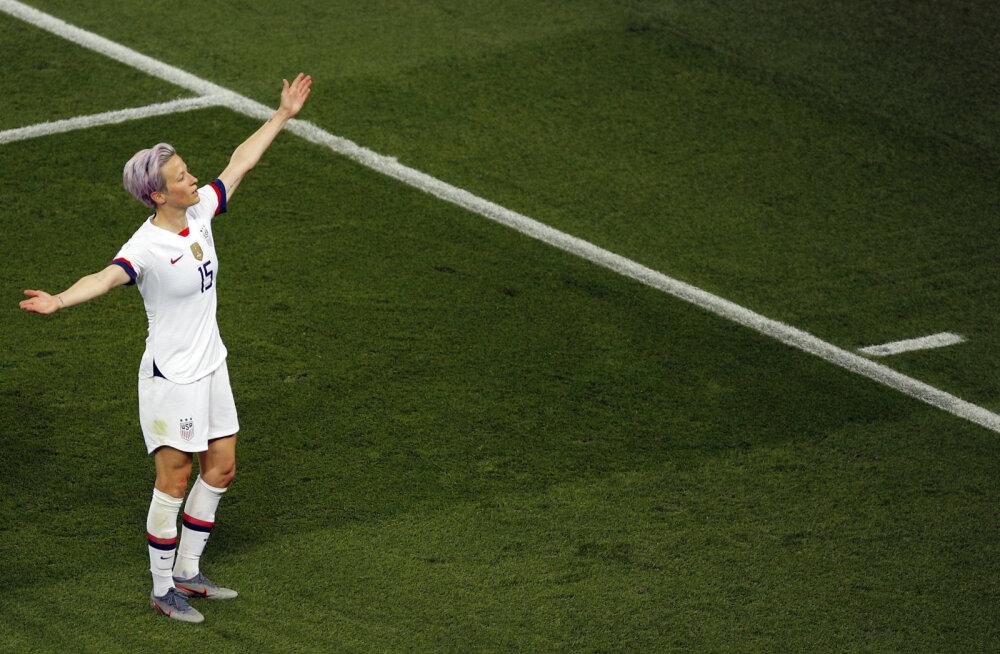 USA murdis korraldajad prantslannad maha ning sammus poolfinaali