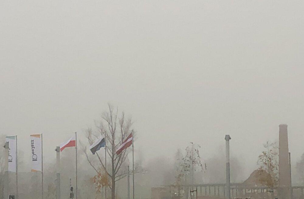 FOTO | Eesti Rahva Muuseumi ees oli Eesti lipp valepidi vardas