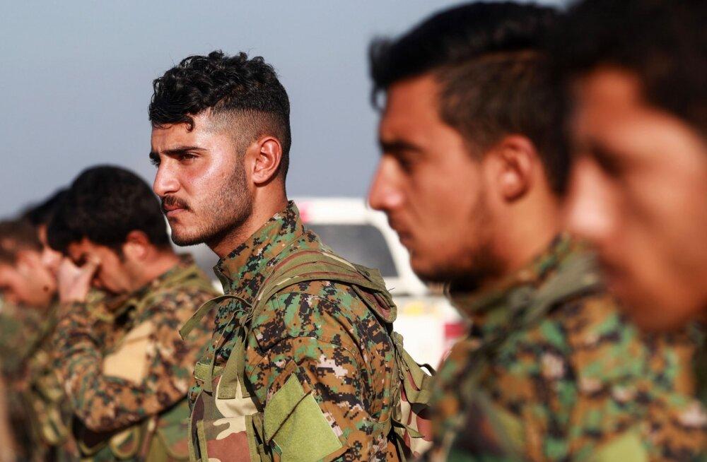 USA vaeb Süürias oma relvade jätmist kurdide kätte