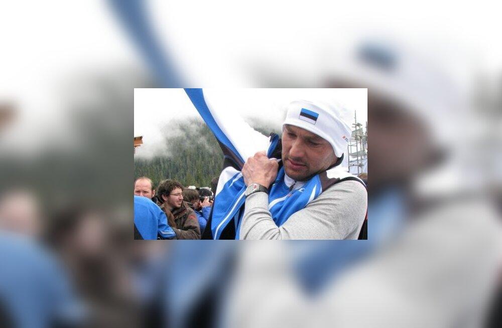 Andrus Veerpalu pärast Vancouveri olümpiamaratoni