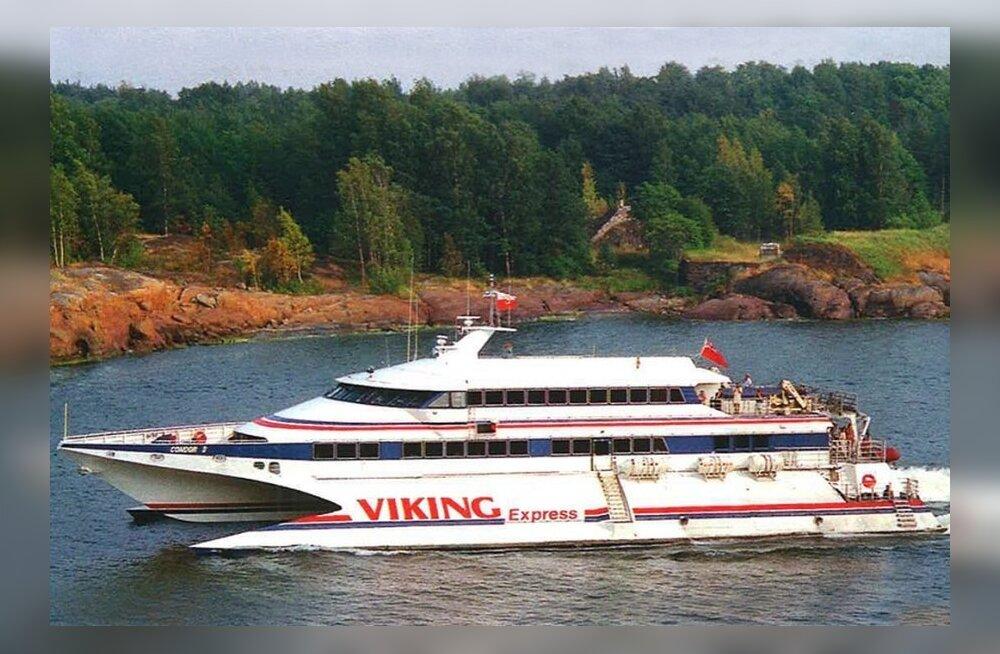 ФОТО: Viking Line отмечает 25-летие открытия линии Хельсинки-Таллинн. Смотрите, на чем можно было тогда попасть из Финляндии в Эстонию