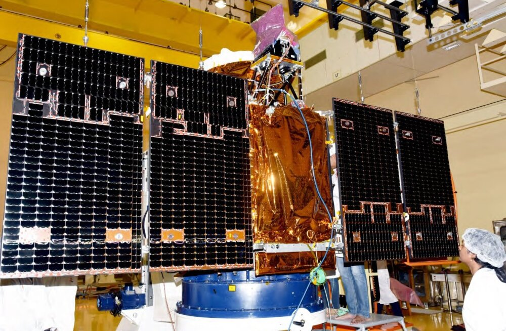CartoSat-2E satelliit enne starti. Foto: ISRO