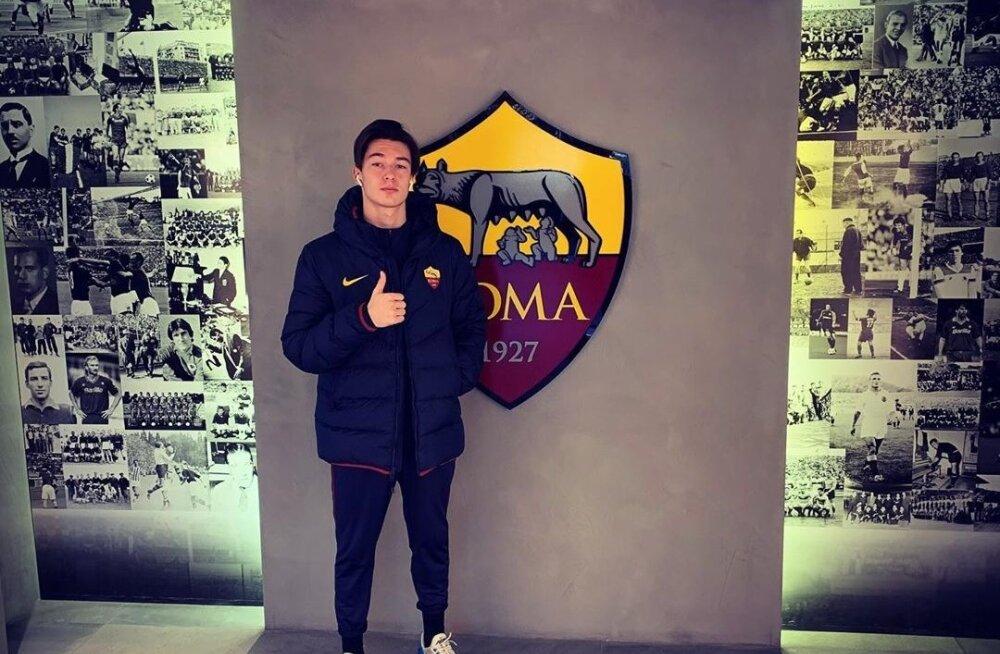 Oliver Jürgens on AS Romas jätnud endast positiivse mulje.