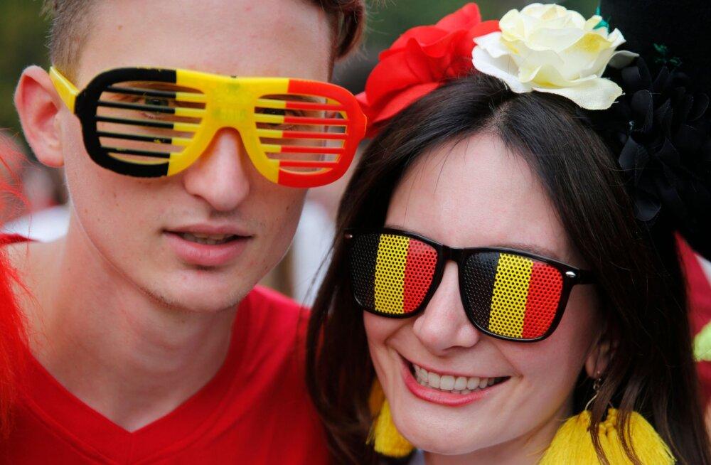 Belgia jalgpallifännid