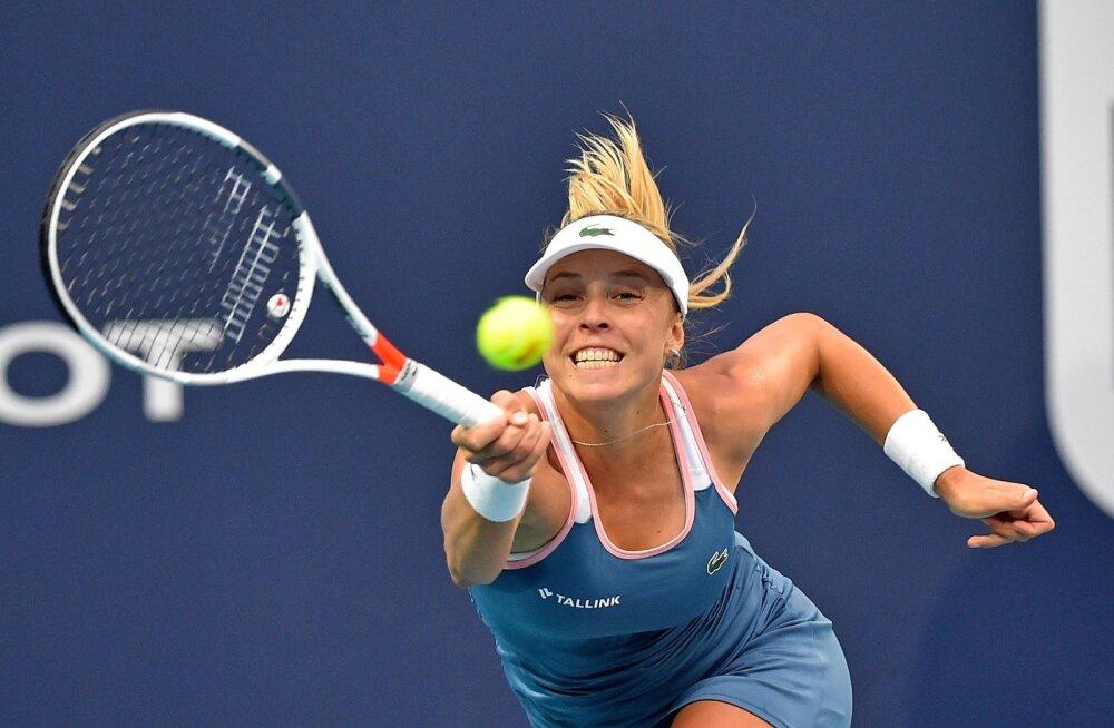 Anett Kontaveit kaotas Miami Openi poolfinaalis hilisemale turniirivõitjale Ashleigh Bartyle.