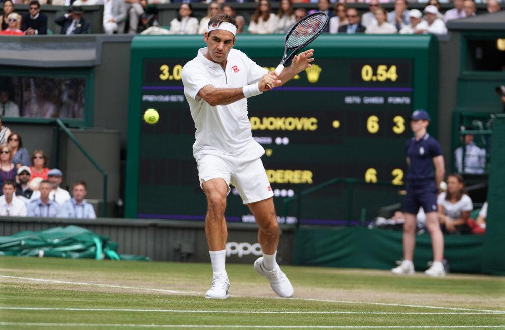 Roger Federer: ma ei jõua igavesti oma rekordit kaitsta
