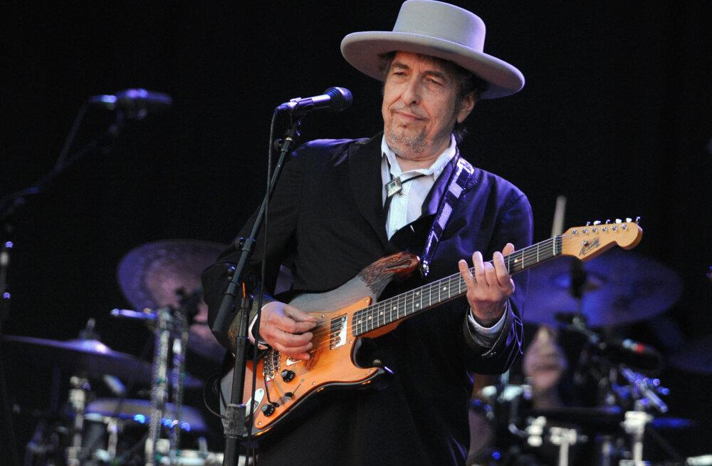 Üllatus! Legendaarne folkmuusik ja poeet Bob Dylan võitis Nobeli kirjanduspreemia