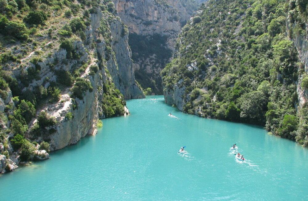 ФОТО. Самый красивый каньон Европы — Вердонское ущелье во Франции