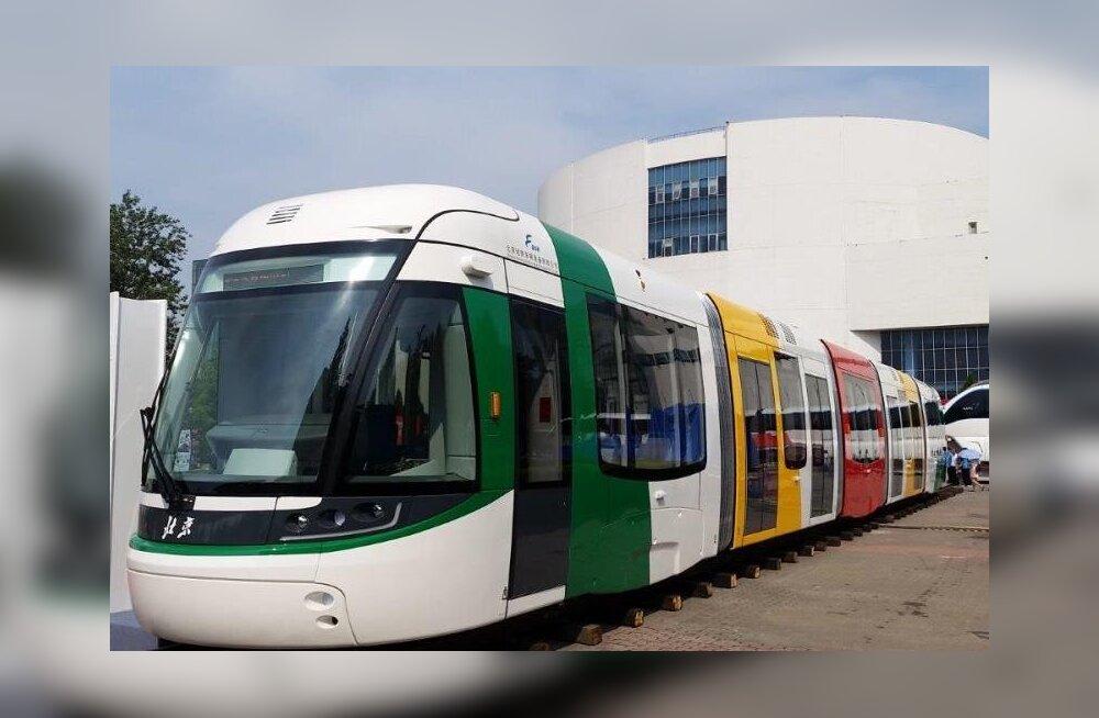 Škoda trammid Hiinas enam sarvega pea kohalt elektrit ei võta