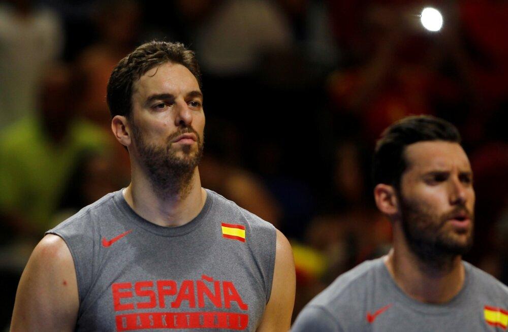 OLYMPICS-RIO/BASKETBALL-SPAIN