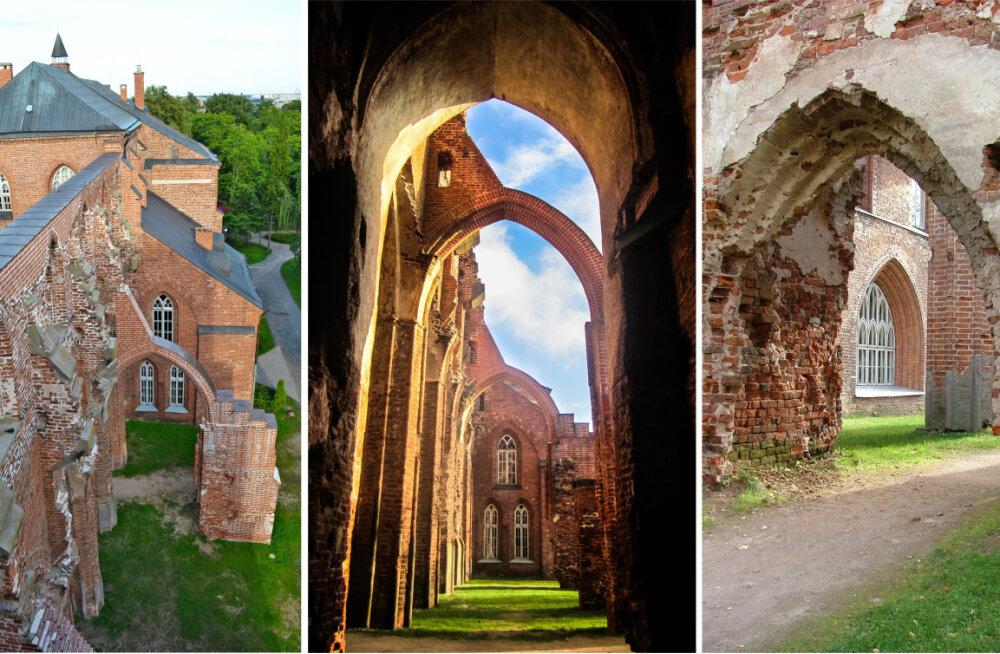 EESTI 100 AARET   Tartu toomkirik – ainus kahe torniga keskaegne kirik Eestis