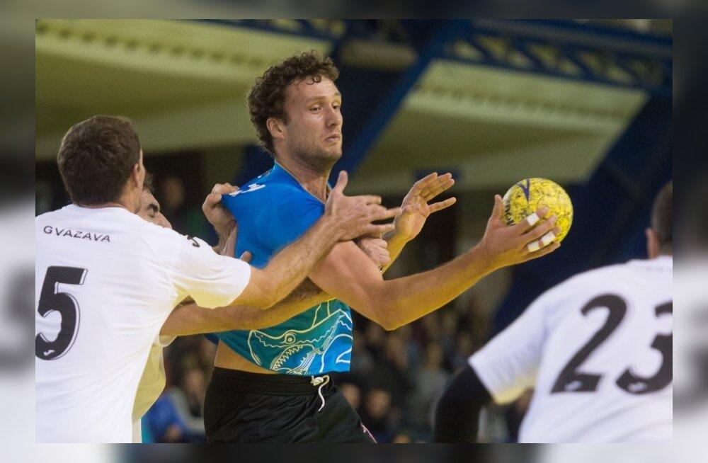 Käsipall Eesti vs Gruusia, Janar Mägi