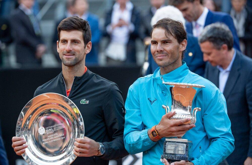 Rootsi tenniselegend: Nadal on ainus, kes suudab suure slämmi turniiril Djokovicile vastu saada