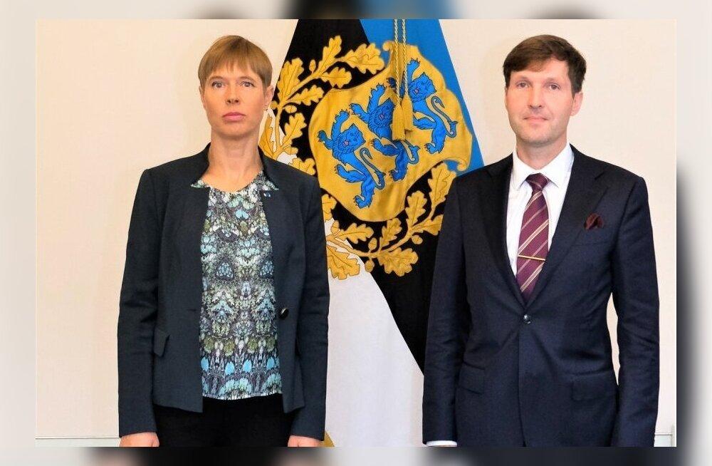 Мартин Хельме раскритиковал предложение Кальюлайд: она только раз встретилась с Путиным, но успела перенять его привычки