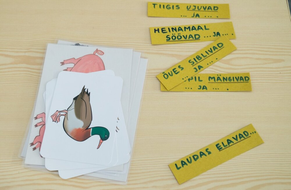 Кu-ку, желающие изучать эстонский! В субботу Фонд интеграции проведет в Нарве ярмарку