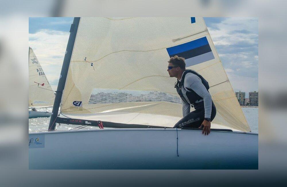 Eesti purjetaja võitis juunioride MM-il hõbemedali