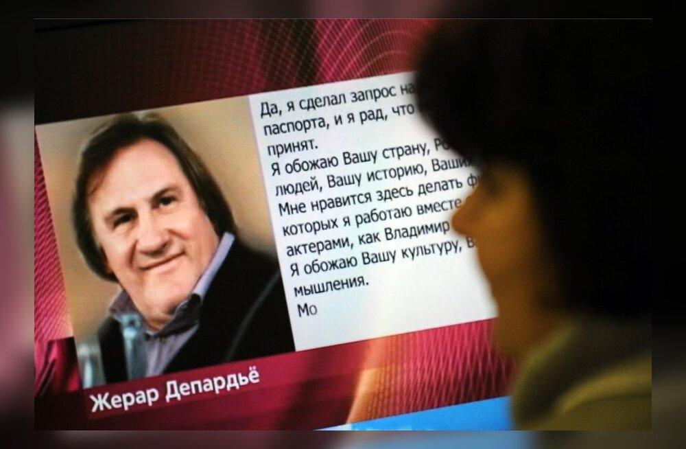 Ukraina rahvuslased kutsusid üles Depardieu'd suure Vene-armastuse pärast boikottima