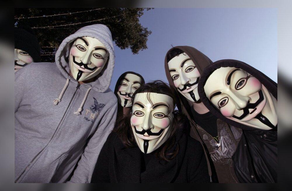 Kuidas Anonymousi häkkerid ise haledalt küberrünnaku ohvriks langesid