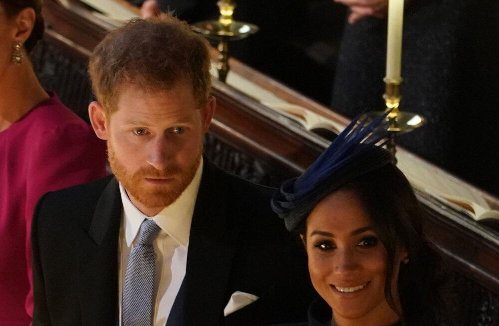 Juhtub ka kuninglikel paaridel: prints Harry ja Meghan Markle'i vahel oli väike nägelus