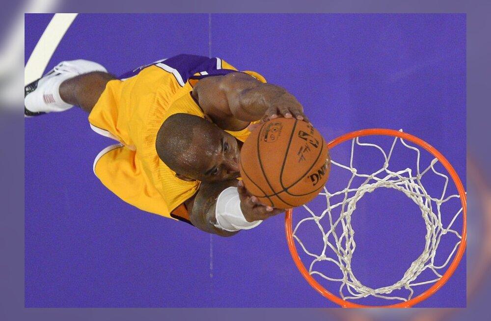 VIDEO: Bryanti 27 punktist jäi Lakersi jaoks väheks