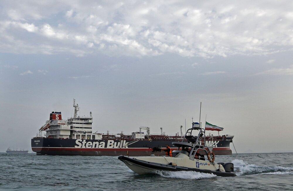 Läti palus Soomelt abi Iraani hõivatud tankeri meeskonnas oleva Läti kodaniku olukorra selgitamiseks