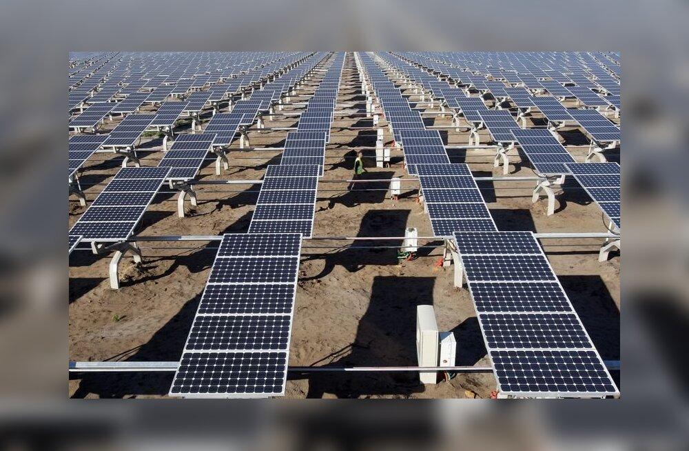 Saksamaal annavad päikesepaneelid aastaga juba poole rohkem elektrit