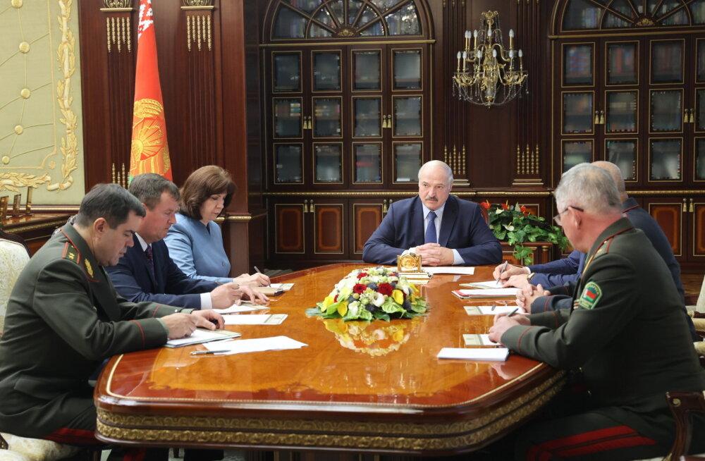 Lukašenka ootab Venemaalt Minski lähedal vahistatud palgasõdurite kohta selgitusi