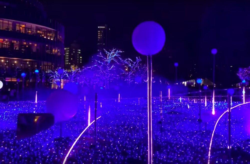 VIDEO | Oh seda ilu! vaata, millised olid jõulud Tokyos