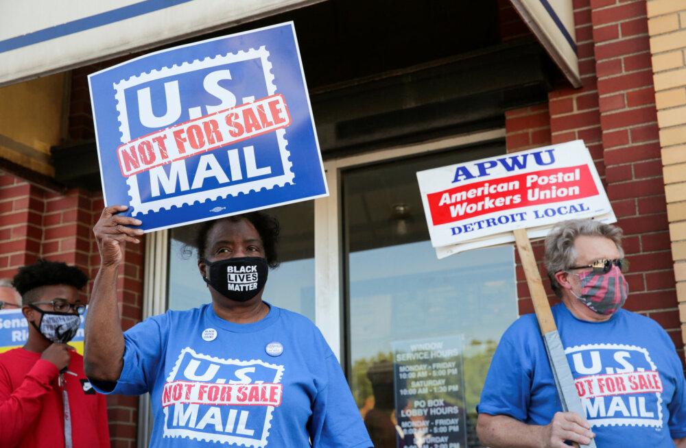 Hiigelkahjumiga flirtivat USA postiteenistust ähvardavad ümberkorraldused