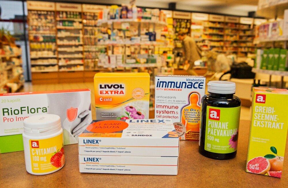 Apteeker: 10 soovitust, millega koduapteeki praegusel viirushooajal täiendada