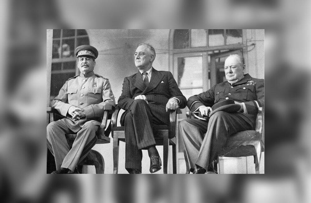 Teheran 1943: vene tõde vs ameerika tõde – kes pisutki teab Stalini-aja protokollimise loogikat...