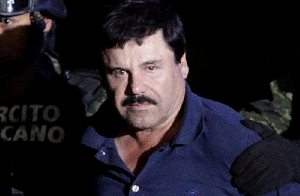 Kohtuotsus: Mehhiko narkoparun El Chapo veedab ülejäänud elu trellide taga ja peab USA valitsusele maksma üle 12,6 miljardi dollari