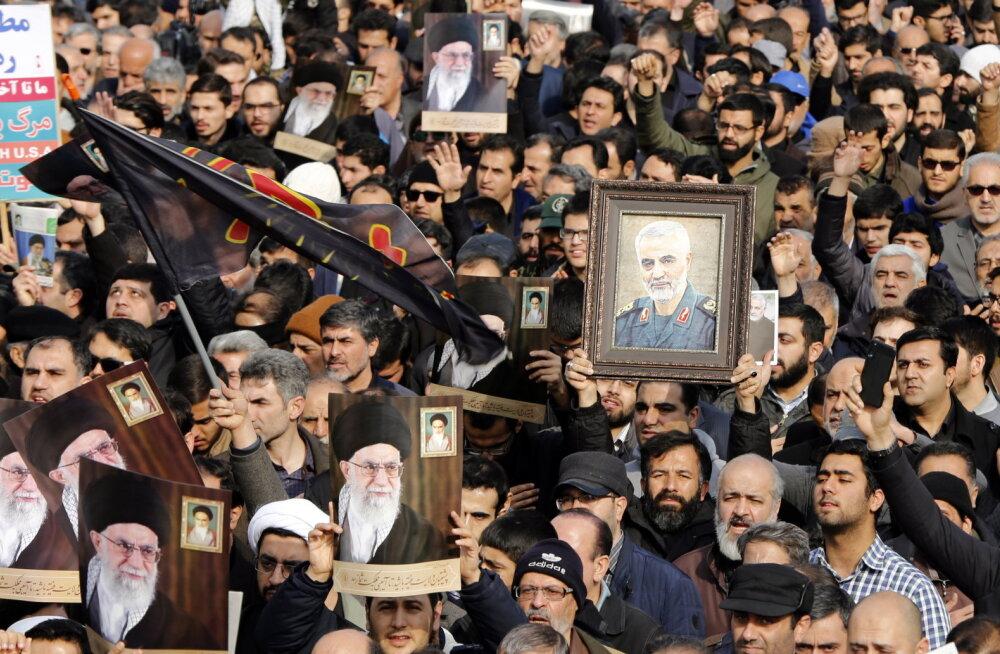 ÜLEVAADE | Iraani kindral Soleimani tapmine raputas kogu Lähis-Ida. Kuidas reageerivad Iraan, Iraak ja nende naabrid?