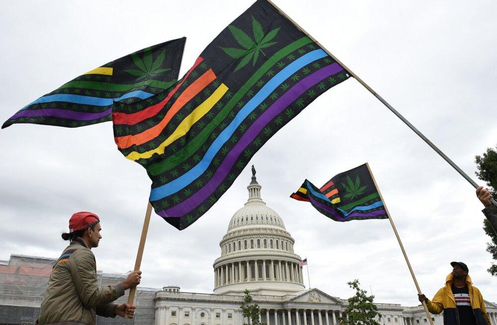USA Kongress otsustab kanepi üleriigilise legaliseerimise üle. Trump avaldas eelnõule toetust