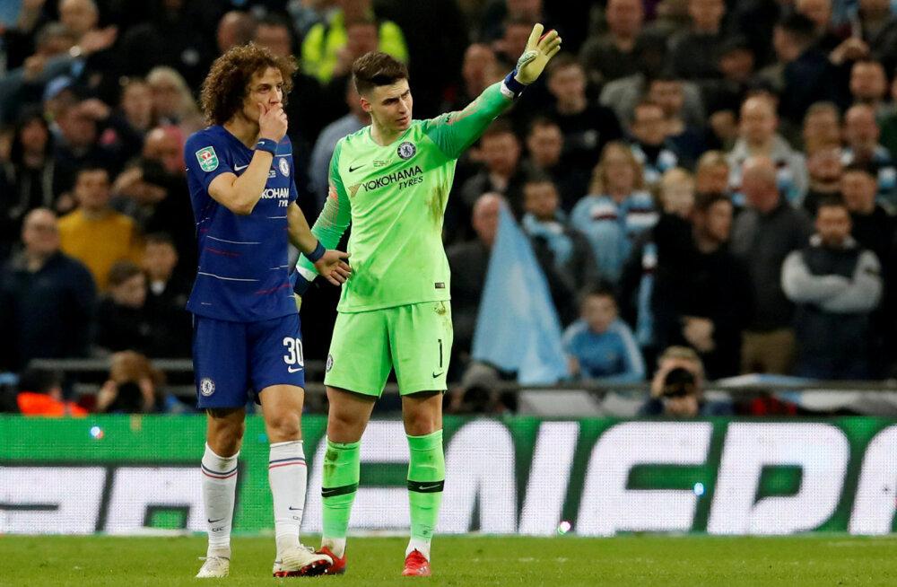 Chelsea määras peatreeneri korraldusi eiranud väravavahile karistuse