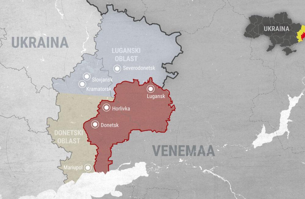 Erkki Bahovski ja Karmo Tüür presidendi visiidist Donbassi: Ukrainale on oluline igasugune toetus