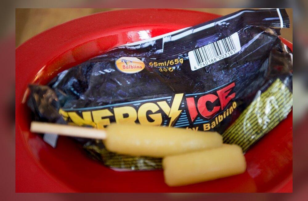 FOTOD: Balbiino lõpetab energiajoogi jäätise müügi