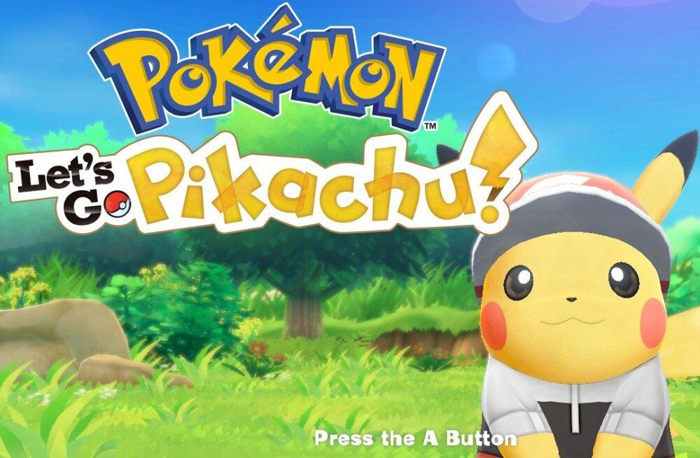 Videomänguarvustus | Pokémon: Let's Go, Pikachu! – armastatud sari lõpuks ometi suurel konsoolil